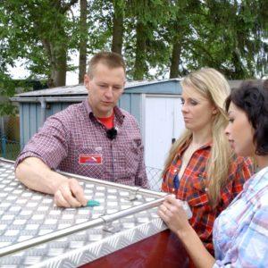 Kunststoffkeile für Dachdecker